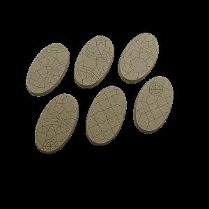 Micro Art Studio   Mosaic Bases Mosaic Bases, Oval 60mm (4) - B01160 - 5900232355501