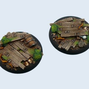 Micro Art Studio   Wood Bases Wood Bases, WRound 50mm (1) - B00643 - 5900232358618