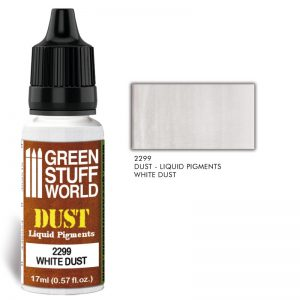 Green Stuff World   Liquid Pigments Liquid Pigments WHITE DUST - 8436574506587ES - 8436574506587
