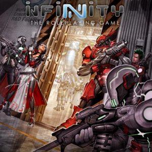 Modiphius Infinity RPG  Infinity RPG Infinity RPG: Nomads Supplement - MUH050222 - 9781912200412
