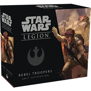 Fantasy Flight Games Star Wars: Legion  The Rebel Alliance - Legion Star Wars Legion: Rebel Troopers - FFGSWL05 - 841333104474