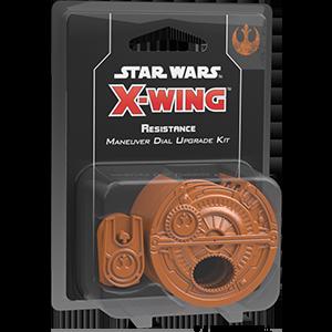 Fantasy Flight Games Star Wars: X-Wing  The Resistance - X-wing Star Wars X-Wing: Resistance Maneuver Dials - FFGSWZ21 - 841333106744