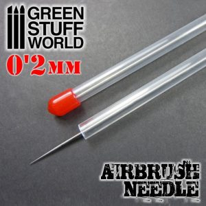 Green Stuff World   Airbrushes & Accessories Airbrush Needle 0.2mm - 8436554369300ES - 8436554369300