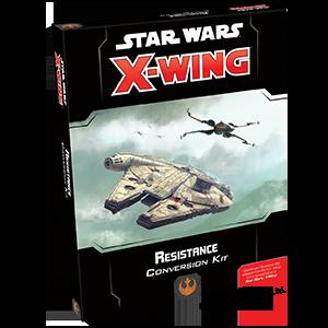 Fantasy Flight Games Star Wars: X-Wing  The Resistance - X-wing Star Wars X-Wing: Resistance Conversion Kit - FFGSWZ19 - 841333106720