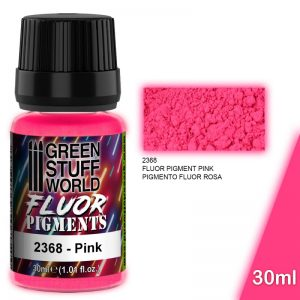 Green Stuff World   Fluorescent Pigments Pigment FLUOR PINK - 8436574507270ES - 8436574507270