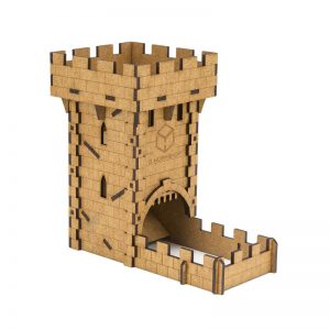 Q-Workshop   Q-Workshop Dice Medieval Dice Tower - THUM101 - 5907699491933