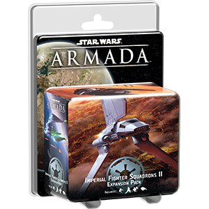 Fantasy Flight Games Star Wars: Armada  The Galactic Empire - Armada Star Wars Armada: Imperial Fighter Squadrons II - FFGSWM24 - 841333101756