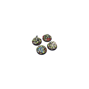 Micro Art Studio   Mechano Swarm Bases Mechano Swarm Base, Round 40mm (2) - B03722 - 5900232357406