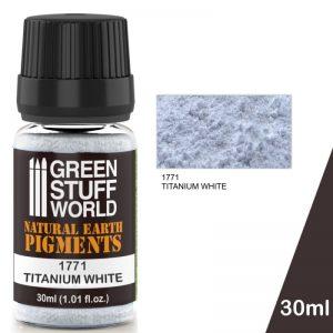 Green Stuff World   Powder Pigments Pigment TITANIUM WHITE - 8436574501308ES - 8436574501308