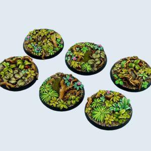 Micro Art Studio   Jungle Bases Jungle Bases, Round 40mm (2) - B02122 - 5900232350872
