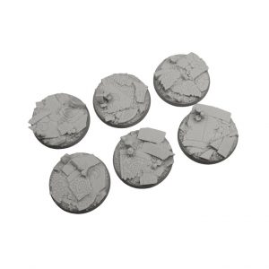 Micro Art Studio   Ruined Chapel Bases Ruined Chapel Bases, Round 40mm (2) - B05522 - 5907652561383