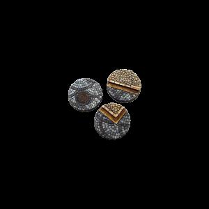 Micro Art Studio   Cobblestone Bases Cobblestone Bases, Round 50mm (2) - B00330 - 5900232355129