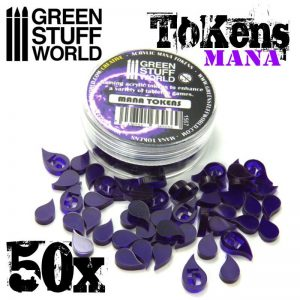 Green Stuff World   Status & Wound Markers Mana Tokens - 8436554369669ES - 8436554369669