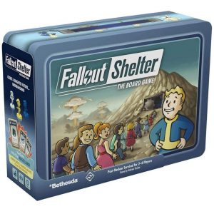 Fantasy Flight Games   Fallout Shelter Fallout Shelter: The Board Game - FFGZX06 - 841333110765