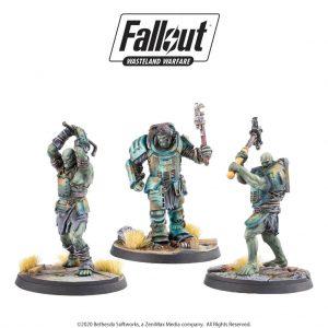 Modiphius Fallout: Wasteland Warfare  Fallout: Wasteland Warfare Fallout: Wasteland Warfare Super Mutants Skirmishers - MUH051813 - 5060523342037