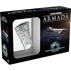 Fantasy Flight Games Star Wars: Armada  The Galactic Empire - Armada Star Wars Armada Gladiator Class Destroyer - FFGSWM06 - 9781616619985