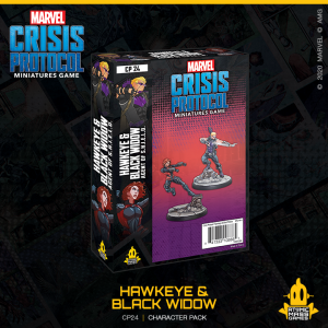 Atomic Mass Marvel Crisis Protocol  Marvel: Crisis Protocol Marvel Crisis Protocol: Hawkeye & Black Widow - CP24 - 841333108885