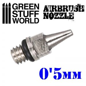 Green Stuff World   Airbrushes & Accessories Airbrush Nozzle 0.5mm - 8436554369331ES - 8436554369331