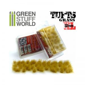 Green Stuff World   Tufts Grass TUFTS XL - 12mm self-adhesive - BEIGE - 8436554363483ES - 8436554363483