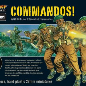 Warlord Games Bolt Action  Great Britain (BA) British Commandos! (25) - 402011007 - 5060200841709