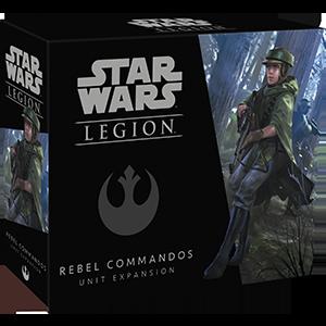 Fantasy Flight Games Star Wars: Legion  The Rebel Alliance - Legion Star Wars Legion: Rebel Commandos - FFGSWL21 - 841333105211