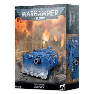 Games Workshop Warhammer 40,000  Space Marines Space Marine Vindicator - 99120101341 - 5011921146024