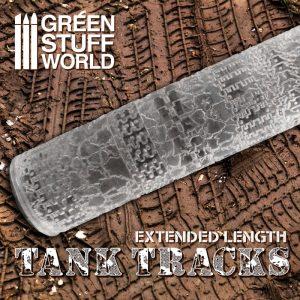Green Stuff World   Rolling Pins Rolling Pin TANK TRACKS - 8436574506631ES - 8436574506631