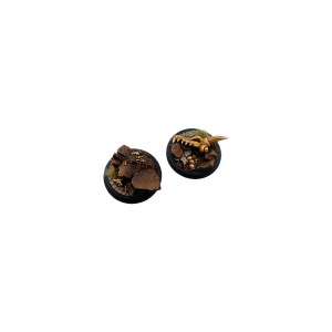Micro Art Studio   Troglodyte Bases Troglodyte Bases, Wround 50mm (1) - B04443 - 5900232360147
