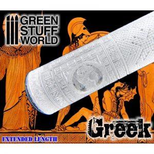 Green Stuff World   Rolling Pins Rolling Pin GREEK - 8436554363377ES - 8436554363377