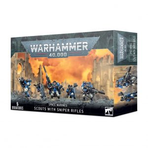Games Workshop Warhammer 40,000  Space Marines Space Marine Scouts with Sniper Rifles - 99120101248 - 5011921112197