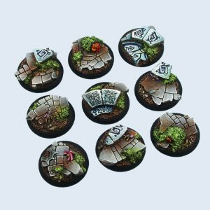 Micro Art Studio   Mystic Bases Mystic Bases, Wround 30mm (5) - B00741 - 5900232359325