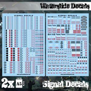 Green Stuff World   Decals Waterslide Decals - Robot Signals - 8436574504750ES - 8436574504750