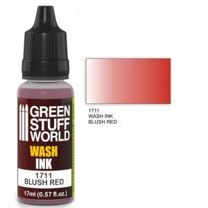 Green Stuff World   Wash Ink Wash Ink BLUSH RED - 8436574500707ES - 8436574500707