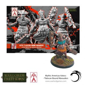 Warlord Games Warlord of Erehwon  Warlords of Erehwon Tlalocan-Bound Marauders - 722211005 - 5060572508668
