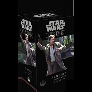 Fantasy Flight Games Star Wars: Legion  The Rebel Alliance - Legion Star Wars Legion: Han Solo Operative - FFGSWL20 - 841333105204