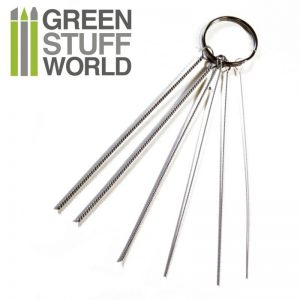 Green Stuff World   Airbrushes & Accessories Airbrush Nozzle Cleaning Wires - 8436554364107ES - 8436554364107