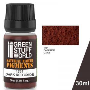 Green Stuff World   Powder Pigments Pigment DARK RED OXIDE - 8436574501209ES - 8436574501209