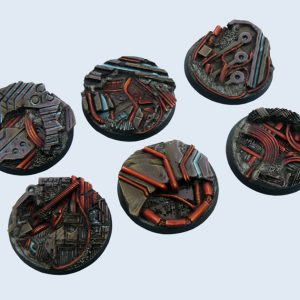 Micro Art Studio   Derelict Bases Derelict Bases, Round 40mm (2) - B04122 - 5900232358472