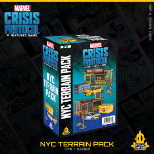 Atomic Mass Marvel Crisis Protocol  Marvel: Crisis Protocol Marvel Crisis Protocol: NYC Terrain Expansion - CP06 - 841333108724