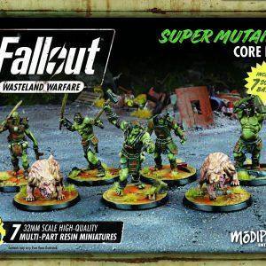Modiphius Fallout: Wasteland Warfare  Fallout: Wasteland Warfare Fallout: Super Mutants Core Box - MUH051239 - 5060523340286