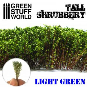 Green Stuff World   Plants & Flowers Tall Shrubbery - Light Green - 8436574504248ES - 8436574504248