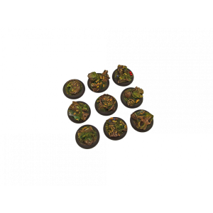 Micro Art Studio   Forest Bases Forest Bases, Wround 30mm (5) - B00541 - 5900232360529