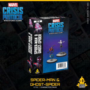 Atomic Mass Marvel Crisis Protocol  Marvel: Crisis Protocol Marvel Crisis Protocol: Ghost-Spider & Spider-Man - CP10 - 841333108830