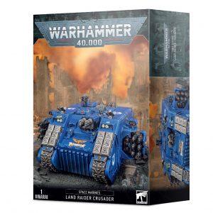 Games Workshop Warhammer 40,000  Space Marines Space Marine Land Raider Crusader / Redeemer - 99120101344 - 5011921146406