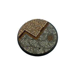 Micro Art Studio   Cobblestone Bases Cobblestone Bases, WRound 120mm (1) - B00346 - 5900232359004