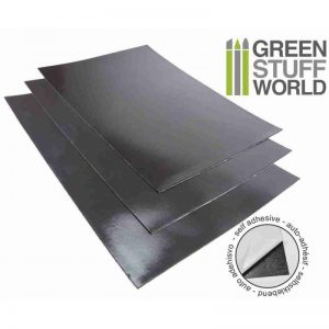 Green Stuff World   Magnets Magnetic Sheet - Self Adhesive x1 - 8436554360468ES - 8436554360468