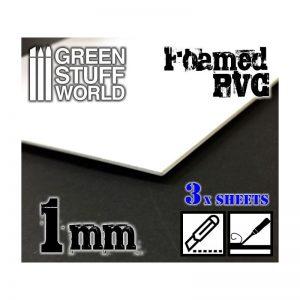 Green Stuff World   Foamboard Foamed PVC 1 mm - 8436554368044ES - 8436554368044