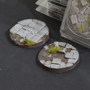 Gamers Grass   Battle-ready Temple Bases Temple Bases Round 60mm (x2) - GGB-TR60 -