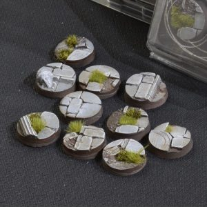 Gamers Grass   Battle-ready Temple Bases Temple Bases Round 25mm (x10) - GGB-TR25 -