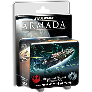 Fantasy Flight Games Star Wars: Armada  The Rebel Alliance - Armada Star Wars Armada Rogues and Villains - FFGSWM14 - 9781633441217